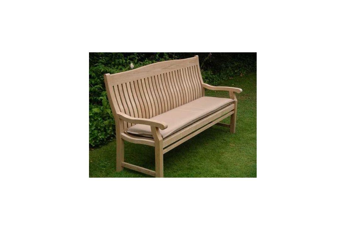 outdoor cushion for 180cm bench bedrock. Black Bedroom Furniture Sets. Home Design Ideas