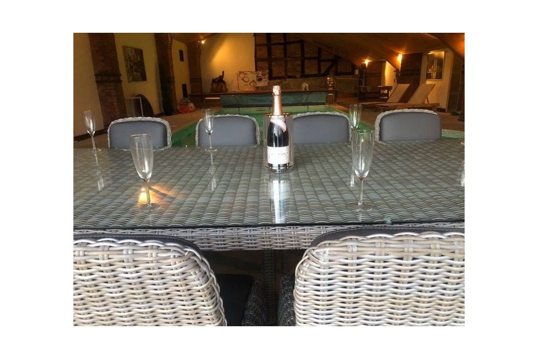 Meteor 10 Chair Dining Set