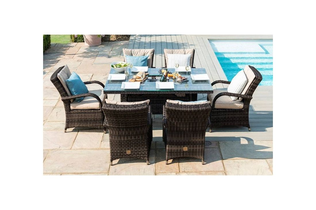 Texas 6 seater Rectangular Dining Set