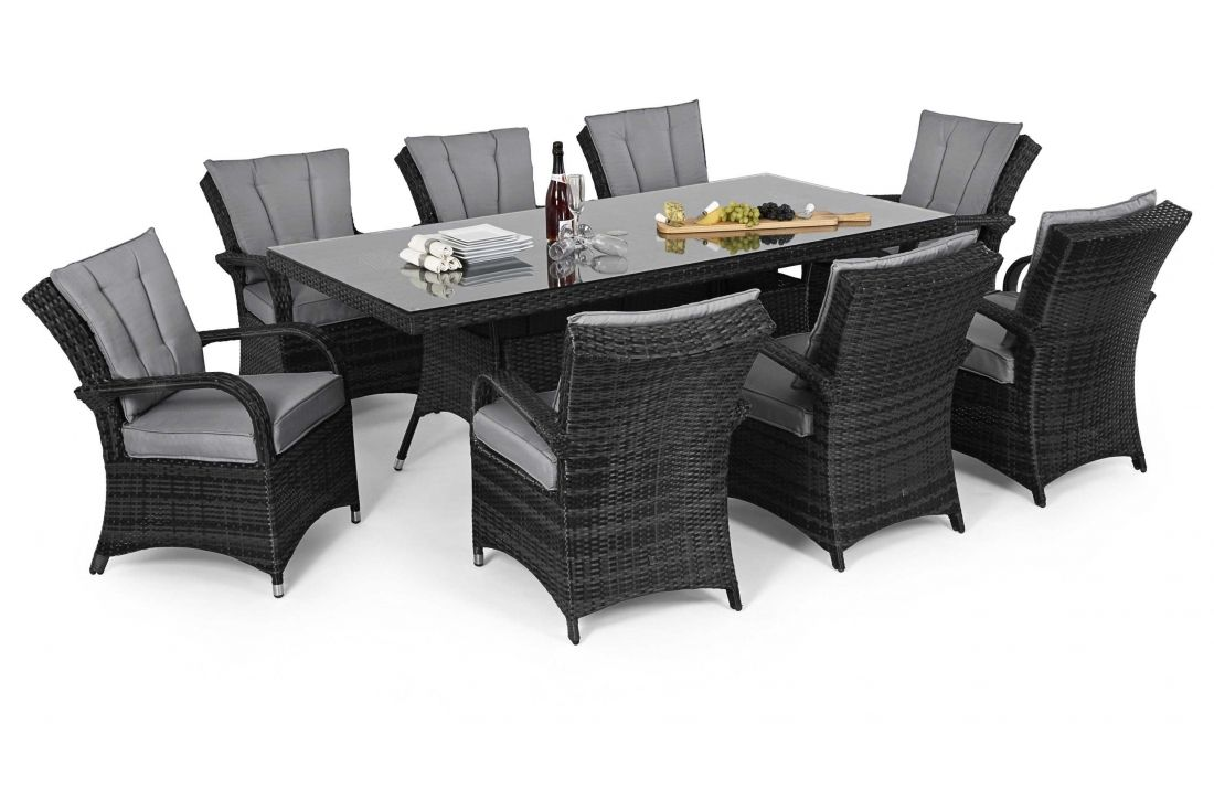 Texas 8 seater Rectangular Dining