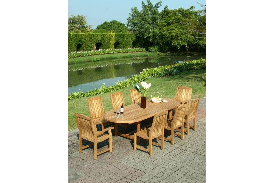 Malvern teak dining set 1
