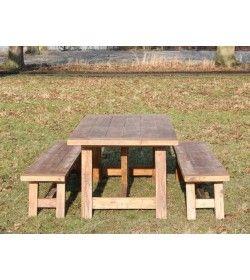 Lombok 2m Bench Set