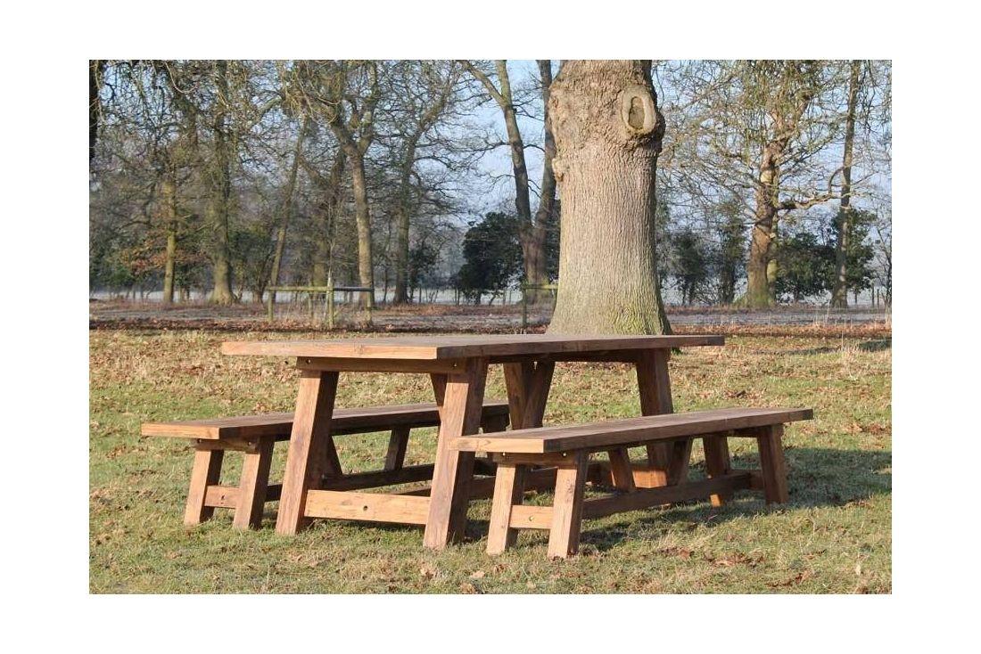Incredible Lombok 3M Bench Set Outdoor Teak Garden Furniture Machost Co Dining Chair Design Ideas Machostcouk