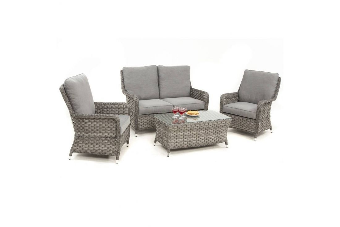 Victoria 2 Seater High Back Sofa Set