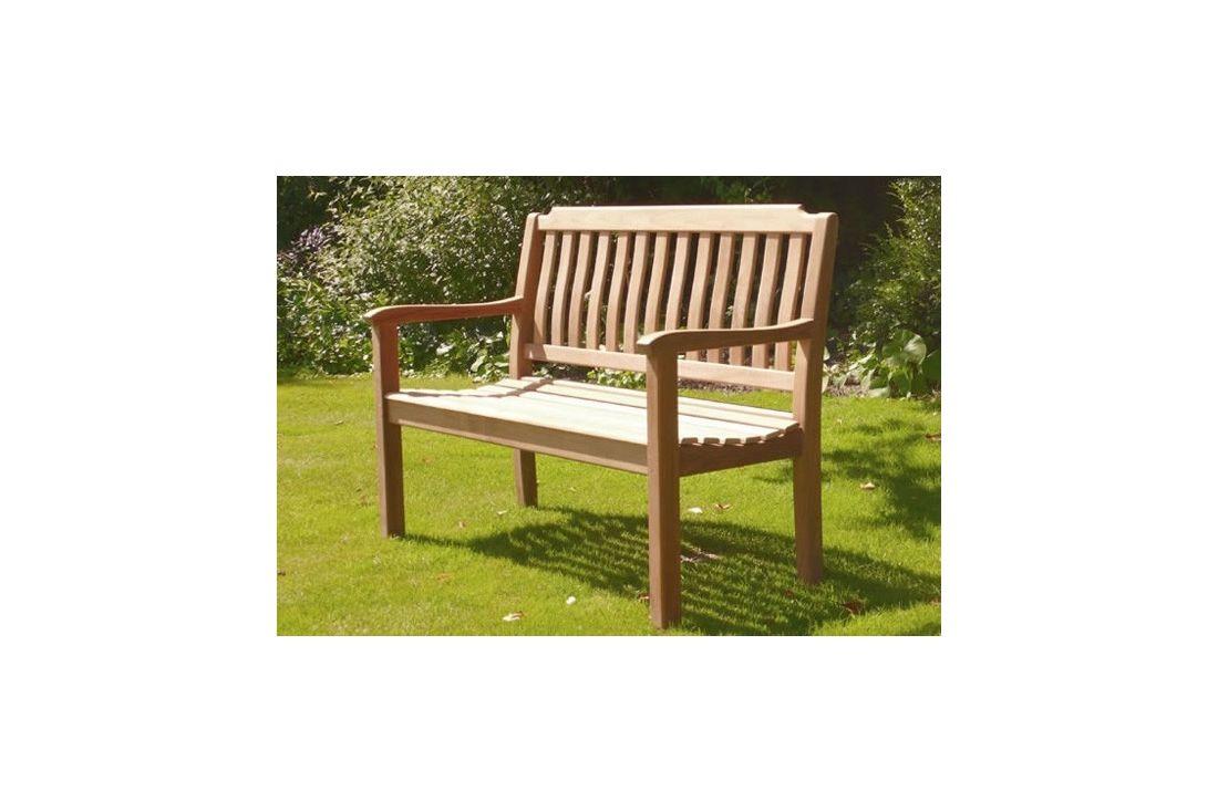 Sandhurst teak bench - 150cm