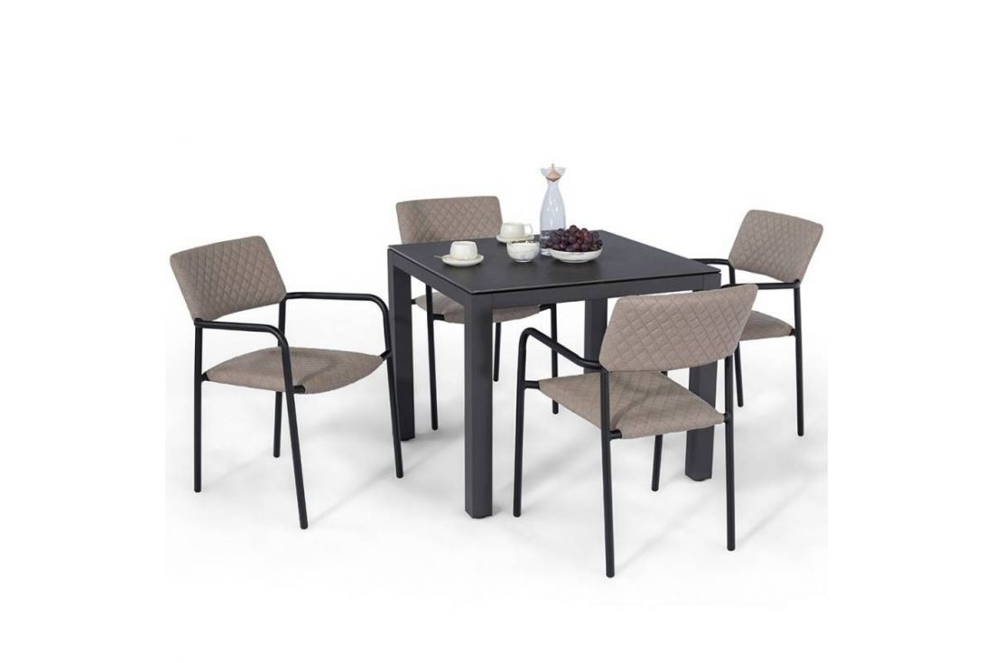 Bliss 4 Seat Square Dining