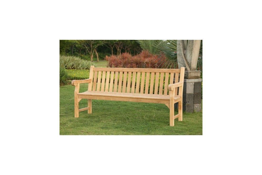 Richmond Garden Teak Bench 1.8m