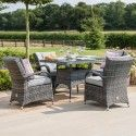 Texas 4 Seater Square Dining Set