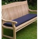 Outdoor Cushion For 150cm Bench - Navy Blue