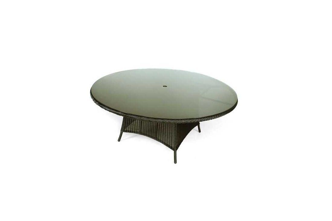 Feri 180cm dia wicker table