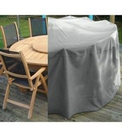 Garden furniture cover - Large round suite table & chairs