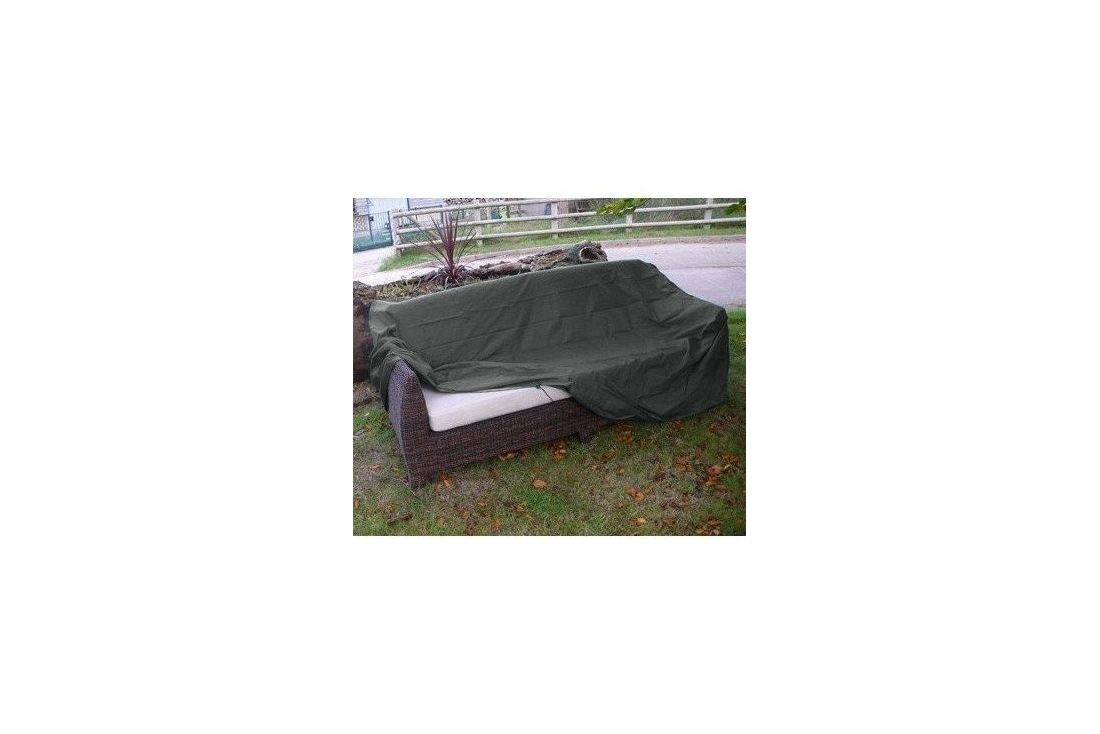 Outdoor Rattan cover 4 seater sofa