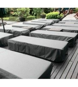 Garden furniture cover - Sun lounger
