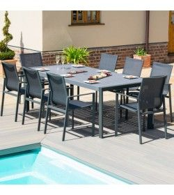 NEW YORK 8 SEAT DINING SET
