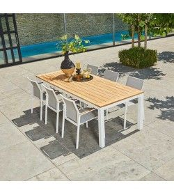 Vario 180 Teak Table  Set