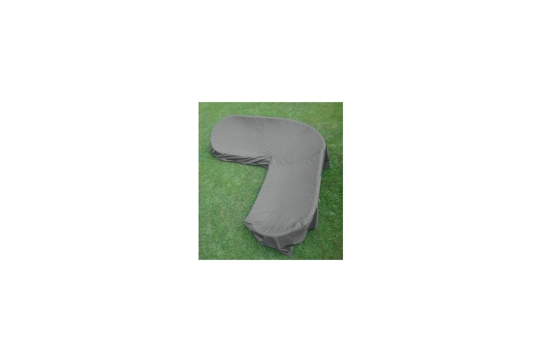 Garden furniture cover - corner sofa Large
