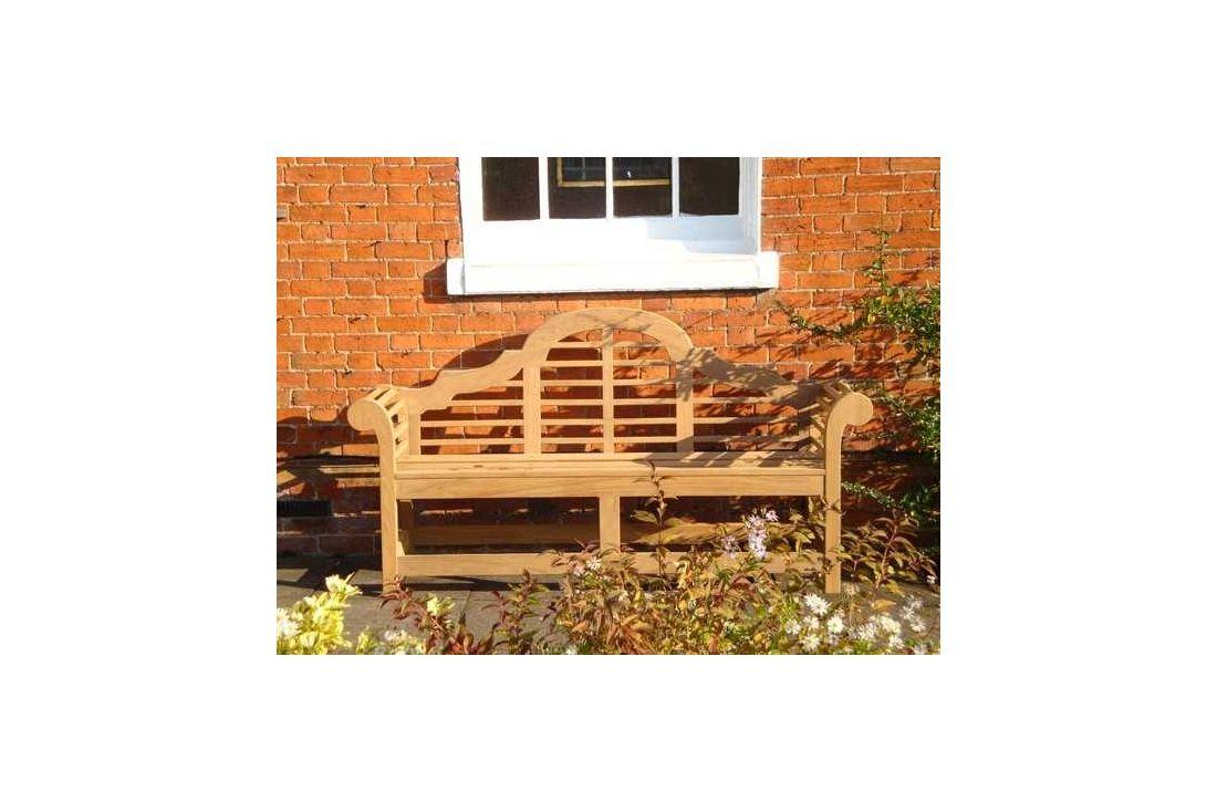 Lutyens Teak Garden Bench 190cm