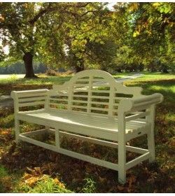 Lutyens bench painted - 190cm