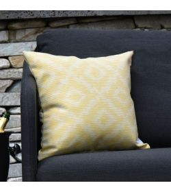 4 Scatter Cushions Santorini Yellow