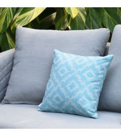 Scatter Cushions x 2  Santorini Blue
