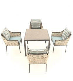 Tahiti Dining Set