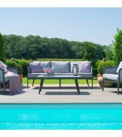 Portofino 3 Seat Sofa Set