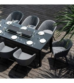 Ambition 8 Seat Rectangular Dining Firepit