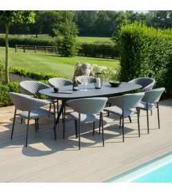 Pebble 8 Seat Oval Dining