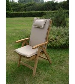 Recliner outdoor cushion - bedrock
