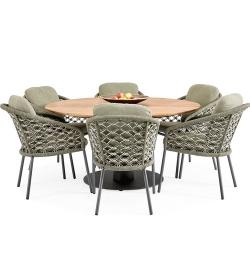 Grado Nappa 6 seater dining