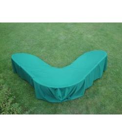 Garden furniture cover - corner sofa