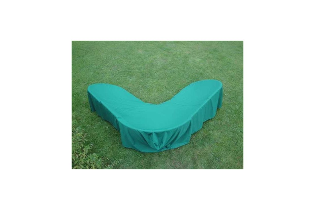 Garden furniture cover - corner sofa