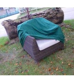 Outdoor Rattan single chair weather cover