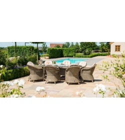 Winchester 8 Seat Fire Pit Oval