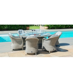 Oxford 6 Seat Oval Fire pit