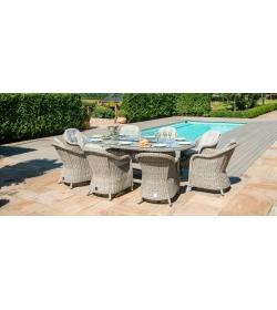 Oxford Heritage 8 Seat Oval Fire Pit
