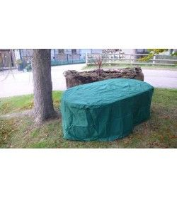 Table weather cover - 160cm rectangular table