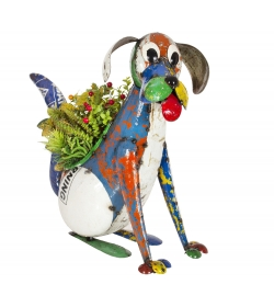 Dynamo The Dog Planter