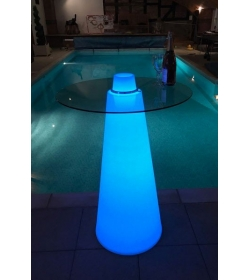 LED Cone Table