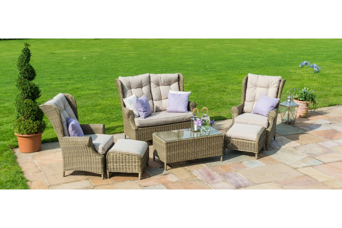 Picture of: Winchester High Back Sofa Set
