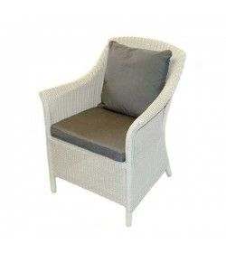Eco Loom Arm Chair - White