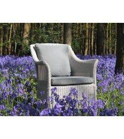 Eco Loom Arm Chair - White