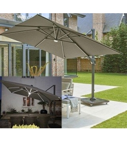 Royal 3M Square LED Parasol
