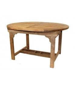 Classic FSC Certified 1.5m - 2m Oval Extending Table