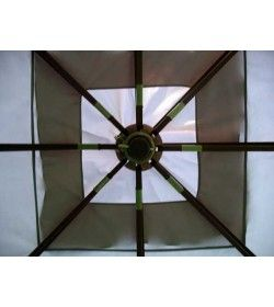 3m x 3m riveria gazebo - top frame