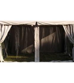 300cm x 300cm Riveria gazebo - mosquito nets