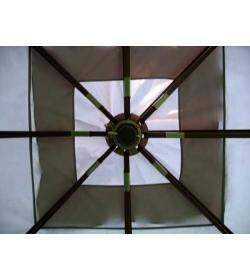4m x 3m deluxe gazebo - top frame