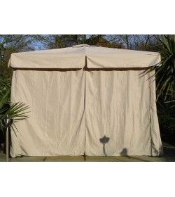 4m x 3m delux gazebo - side curtains