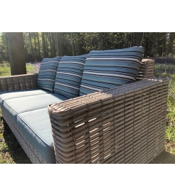 Fiji Pipe 3 seater Sofa