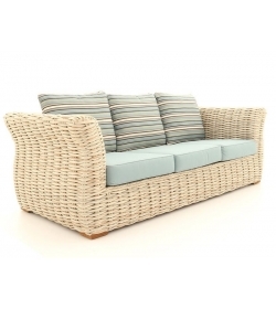 Fiji Wave 3 seat Sofa